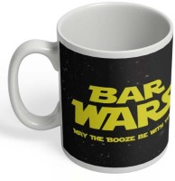 PosterGuy Beer Wars Beer, Star Wars, Funny, Quirky, Cool Ceramic Mug (325 Ml)