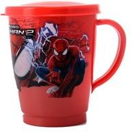 Pratha Cartoon S/Tumbler/Cup For Kids Stainless Steel, Plastic Mug (0.150 Ml)