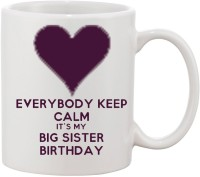 Elli Gifts Happy Birthday My Big Sister BS5 Ceramic Mug (325 Ml)