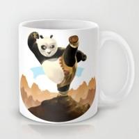 Astrode Kung Fu Panda Ceramic Mug (325 Ml)