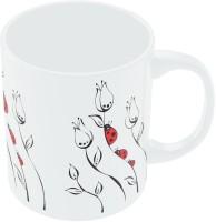 PosterGuy Red Lady Bug Designer Ceramic Mug (280 Ml)