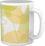 Tiedribbons Cups & Mugs Tiedribbons Shy Shine_Geometric Multicolor_ Sobre Pattern Ceramic Mug