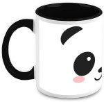 HomeSoGood Plates & Tableware HomeSoGood White Panda Ceramic Mug