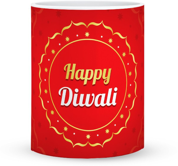 Magic Mouse Design™ Diwali Coffee  Ceramic Mug