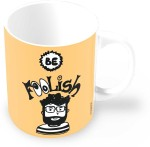 Thinkpot Plates & Tableware Thinkpot Be Foolish Doodle Motivational Ceramic Mug