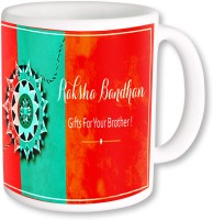 PhotogiftsIndia Raksha Bandhan Gifts For Brother Ceramic Mug (325 Ml)