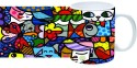 Printland Glass Painting Mug - Multicolor, Pack Of 1