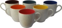 CDI Marble Ceramic Mug (150 Ml, Pack Of 6)