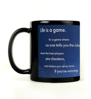 Shoperite Life Is Game Ceramic Mug (300 Ml)
