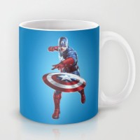 Astrode The Captain America Ceramic Mug (325 Ml)