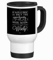 Tiedribbons Failure Is Only The Appointment Travel Stainless Steel Mug (350 Ml)