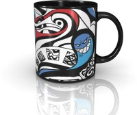 Seven Rays McGraffiti- The Red And Blues Ceramic Mug (350 Ml)