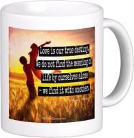 Exoctic Silver Love Quotes 012 Ceramic Mug (300 Ml)