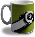 Artifa Plates & Tableware Artifa Headphones Image Porcelain, Ceramic Mug