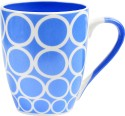 Bharat Opera Series Blue 4 Mug - Blue, White, Pack Of 1