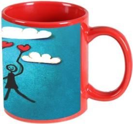 Printland In Air Valentine Day Ceramic Mug