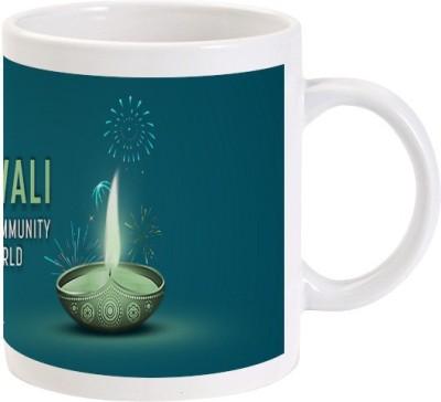 Lolprint 3 Diwali Ceramic Mug