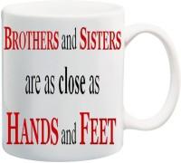Mesleep Brother Sister 61 Ceramic Mug (325 Ml)
