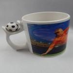 Awwsme Plates & Tableware Awwsme Football Bone China Mug