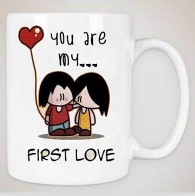 Awwsme Plates & Tableware Awwsme First Love Bone China Mug