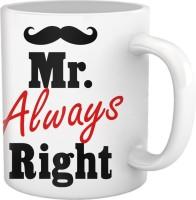 Tiedribbons Love You Mr Always Right Coffee Ceramic Mug (350 Ml)