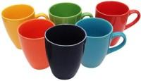 Toygully T521 Ceramic Mug (75 G, Pack Of 6)