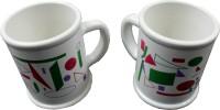 ALTG Unbreakable Tea/Coffee Cups Ceramic Mug (150 Ml, Pack Of 2)