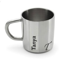 Hot Muggs Me Classic  - Tanya Stainless Steel Mug (200 Ml)