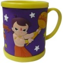 Green Gold Chhota Bheem And The Curse Of Damyaan Mug - Blue, Yellow, Pack of 1