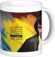 Exoctic Silver Chennai Super King IPL Series XXX 032 Ceramic Mug (300 Ml)