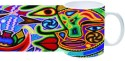 Printland Multi Art Mug - Multicolor, Pack Of 1