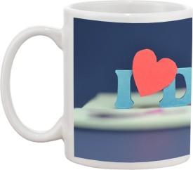 Tia creation I Love DAD D-1 Ceramic Mug