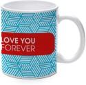 Printland Love You Forever Mug - Multicolor, Pack Of 1