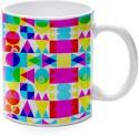 Printland Vibrant Colors Mug - Multicolor, Pack Of 1