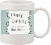 Elli Gifts Happy Birthday My Big Sister BS4 Ceramic Mug (325 Ml)