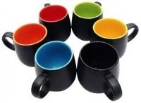 Toygully T7820 Ceramic Mug (50 G, Pack Of 6)
