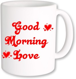 PhotogiftsIndia Good Morning Love 003 Ceramic Mug