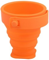 Magic Silicone Cup As Seen On T.V Cup (Orange, Pack Of 1)