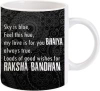 Lolprint Gift For Raksha Bandhan Rakhi Gifts For Brother (Design 58) Ceramic Mug (325 Ml)