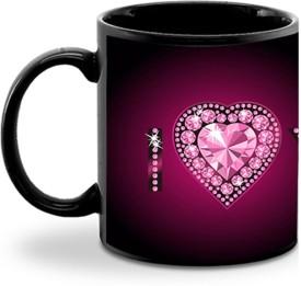 Aurra I LOVE U Ceramic Mug