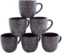Aarzool Cup15wer Ceramic Mug (200 Ml, Pack Of 6)