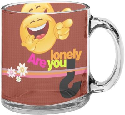 meSleep Plates & Tableware meSleep Are You Lonely Glass Mug