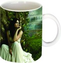 Printland Beauty Queen Mug - Multicolor, Pack Of 1