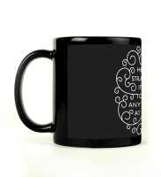 Shoperite Strange To Be Anything Ceramic Mug (300 Ml)