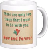 Exoctic Silver Love Quotes 002 Ceramic Mug (300 Ml)