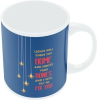 PosterGuy I Will Try To Fix You   Pop Song Inspired Coldplay Band Inspired Ceramic Mug (280 Ml)
