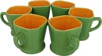 Tejvij And Sons Regular Tea Cups05 Ceramic Mug (125 Ml, Pack Of 6)