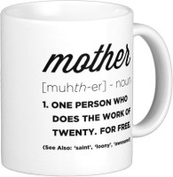 Exoctic Silver MUG02 Ceramic Mug (350 Ml)