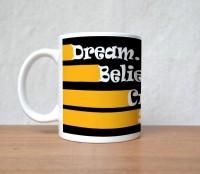 StyBuzz Success Quote Believe Porcelain Mug (300 Ml)