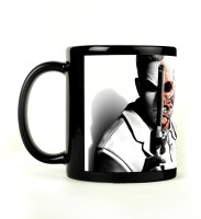 Shoperite Double Faced Arkham City Ceramic Mug (300 Ml)